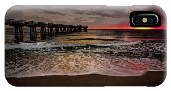 Sunrise At The Pier IPhone Case