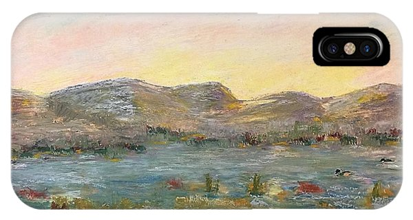 Sunrise At The Pond IPhone Case