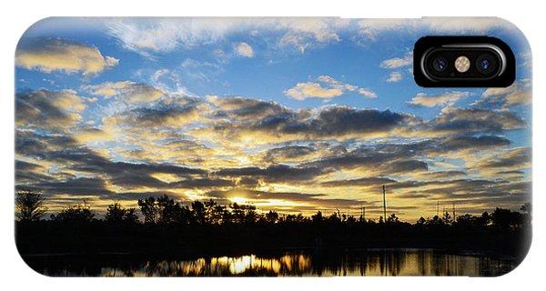 Sunrise At The Summit IPhone Case