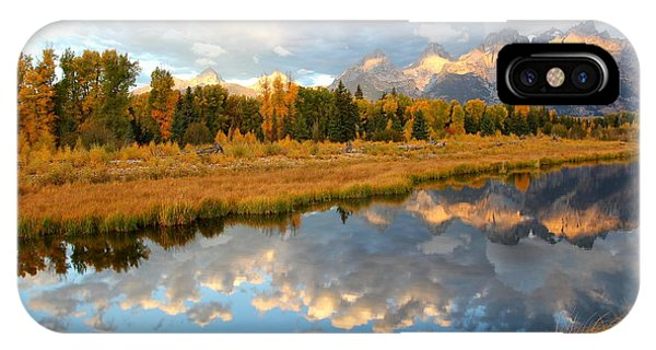 Sunrise At The Tetons IPhone Case