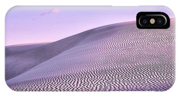 Sunrise At White Sands IPhone Case