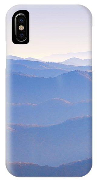Sunrise Atop Clingman's Dome Ltriptych IPhone Case