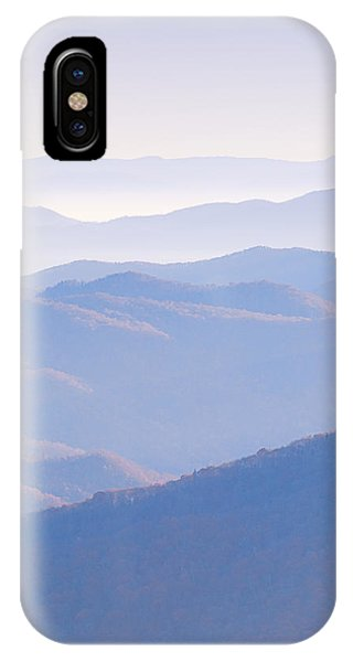 Sunrise Atop Clingman's Dome  Mtriptych IPhone Case