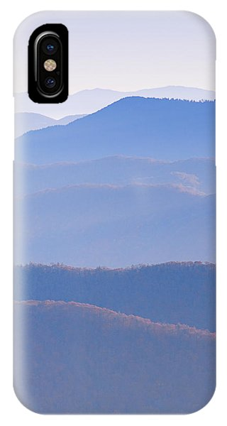 Sunrise Atop Clingman's Dome  Rtriptych IPhone Case