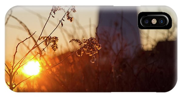 IPhone Case featuring the photograph Sunrise Backlight by Darryl Hendricks