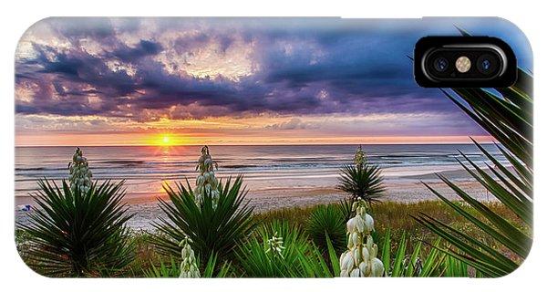 Sunrise Blooms IPhone Case