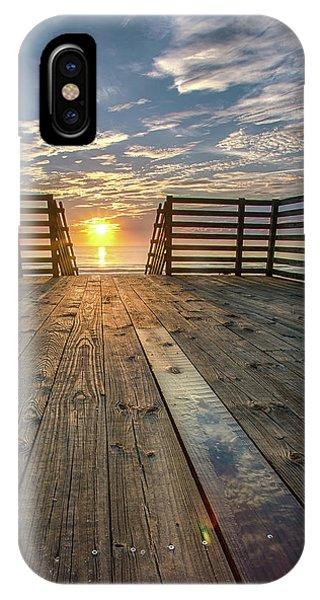 Sunrise Boardwalk IPhone Case