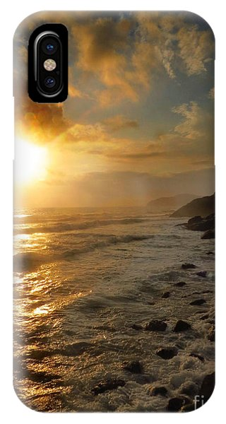 Sunrise By The Rocks IPhone Case