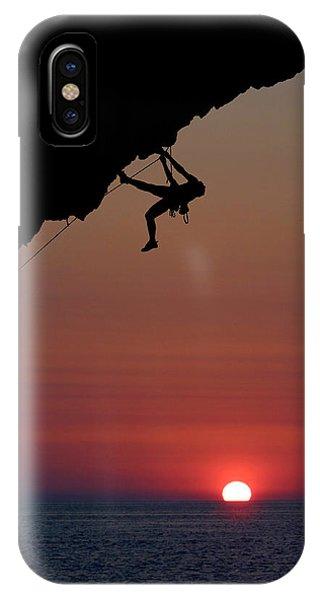 Sunrise Climber IPhone Case