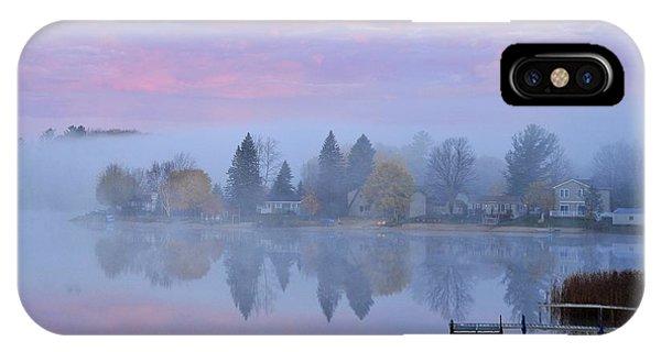 Sunrise Comes To Stoneledge Lake IPhone Case