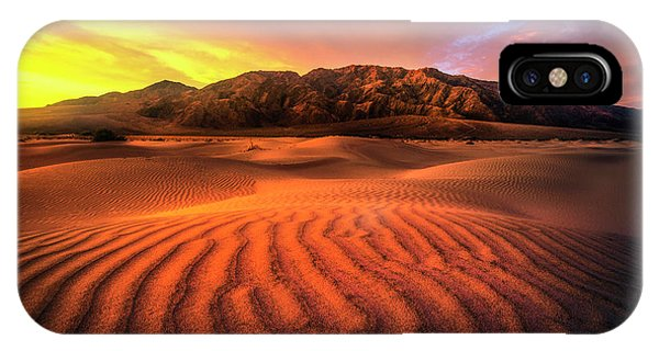Sunrise-death Valley IPhone Case