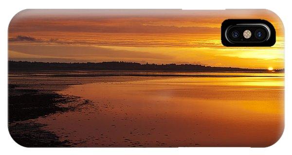 Sunrise Dornoch Firth Scotland IPhone Case