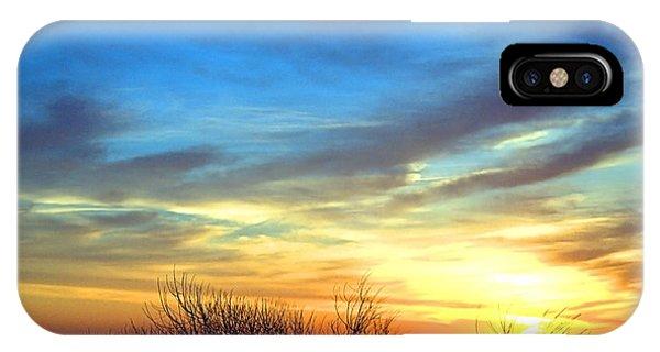 Sunrise Dune I I IPhone Case
