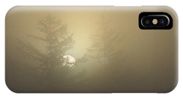Sunrise Fogged - 1 IPhone Case