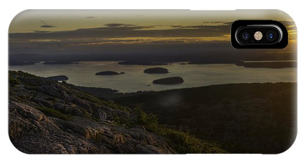 Sunrise From Cadillac Mountain IPhone Case