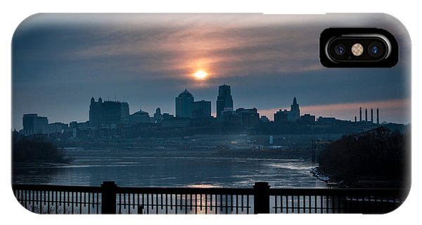 Sunrise From Kaw Point IPhone Case