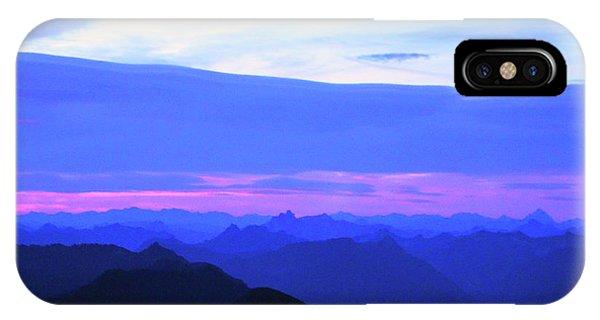 Sunrise From Pilchuck Summit IPhone Case
