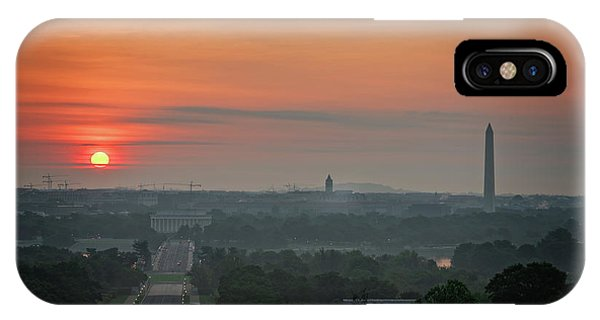 IPhone Case featuring the photograph Sunrise From The Arlington House by Cindy Lark Hartman