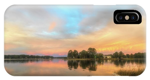 IPhone Case featuring the photograph Sunrise, From The West by Cindy Lark Hartman