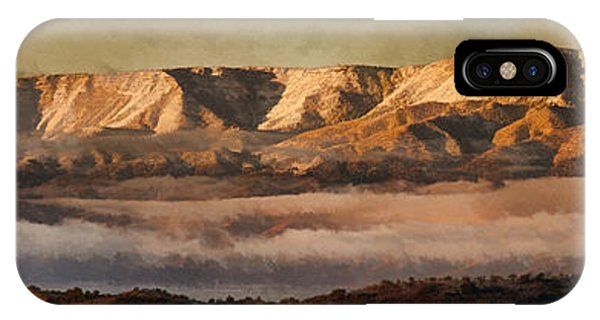 Sunrise Glow Pano Pnt IPhone Case