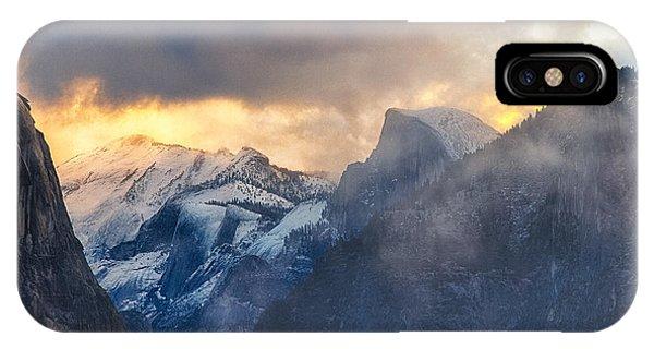 Sunrise Half Dome IPhone Case