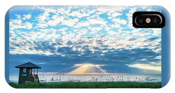 Sunrise Hope Delray Beach Florida IPhone Case