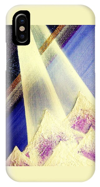 Sunrise  In Alpine IPhone Case