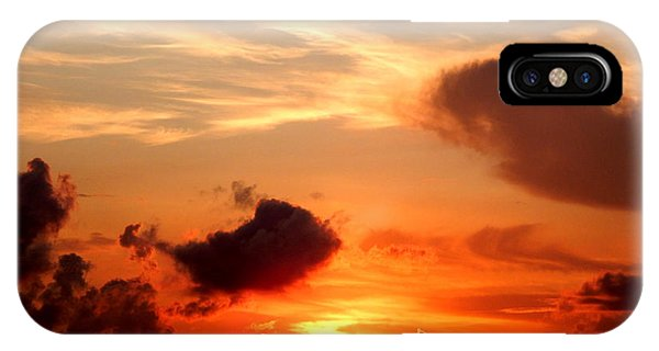 Sunrise In Ammannsville Texas IPhone Case