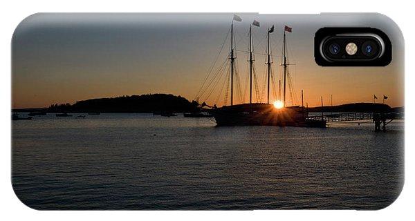 Sunrise In Bar Harbor IPhone Case