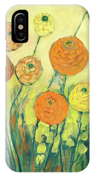 Yellow Flowers iPhone Case - Sunrise In Bloom by Jennifer Lommers