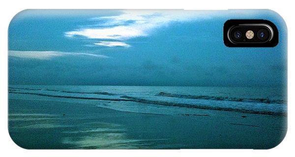 Sunrise In Blue IPhone Case