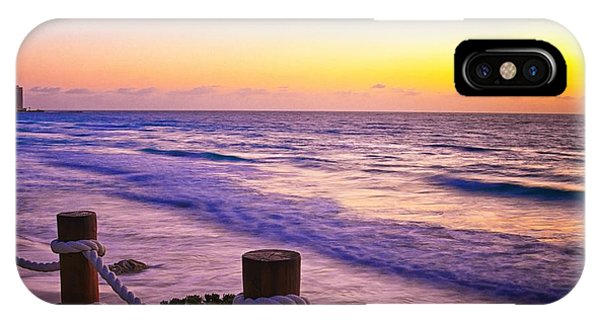 Sunrise In Cancun IPhone Case