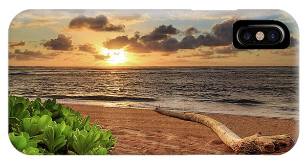 Sunrise In Kapaa IPhone Case
