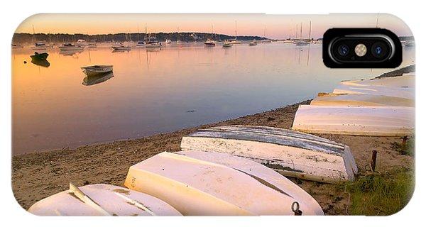 Sunrise iPhone Case - Sunrise In Osterville Cape Cod Massachusetts by Matt Suess