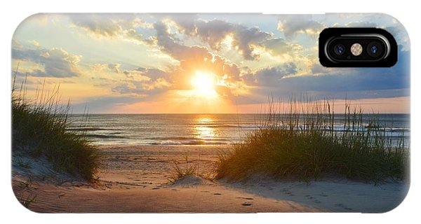 Sunrise In South Nags Head IPhone Case
