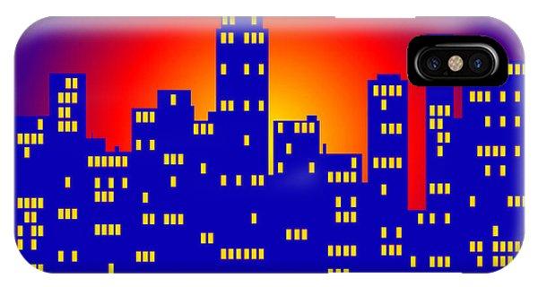 Sunrise In The City IPhone Case