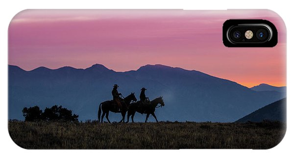 Sunrise In The Lost River Range Wild West Photography Art By Kay IPhone Case