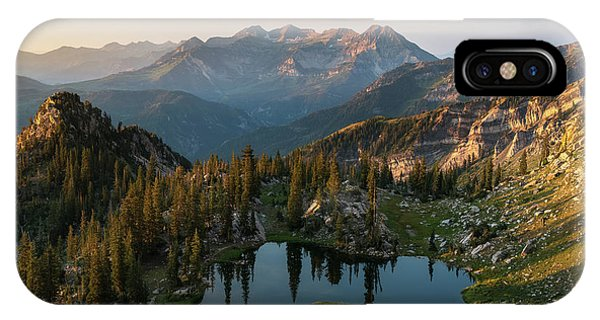 Sunrise In The Wasatch IPhone Case
