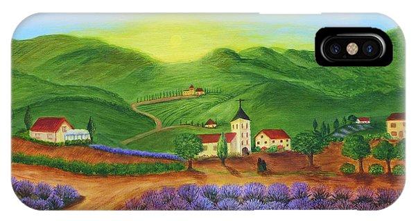 Sunrise In Tuscany IPhone Case