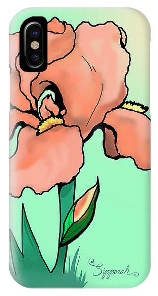 Sunrise Iris IPhone Case