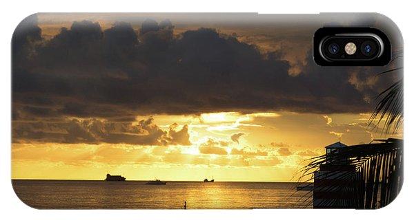 Sunrise Miami Beach IPhone Case