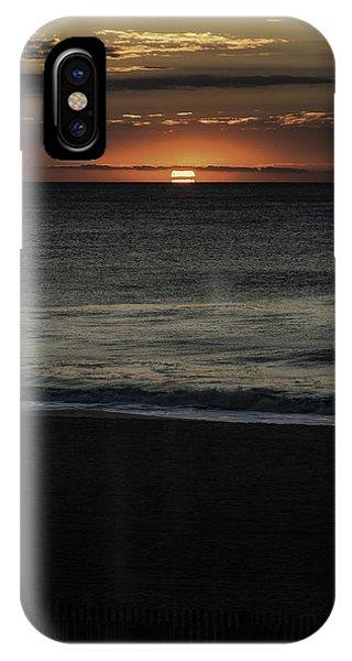 Sunrise Ocean City IPhone Case