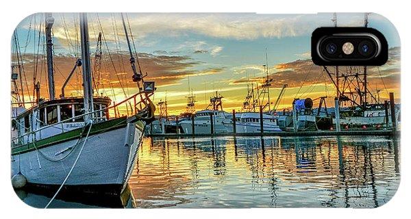 Sunrise On Bay IPhone Case
