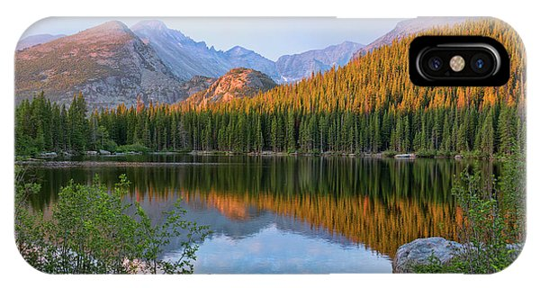 Sunrise On Bear Lake Rocky Mtns IPhone Case
