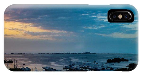 Sunrise On Biscayne Bay IPhone Case