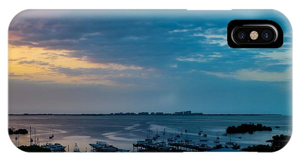 Sunrise On Biscayne Bay IPhone Case