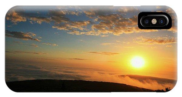 Sunrise On Cadillac Mountain IPhone Case