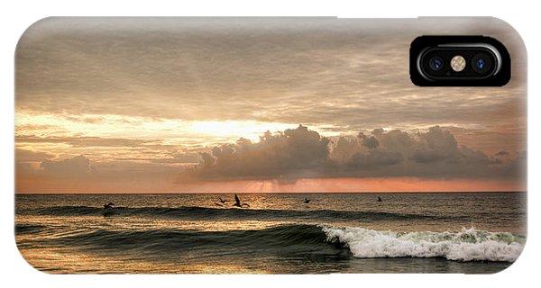Sunrise On Carolina Beach North Carolina IPhone Case