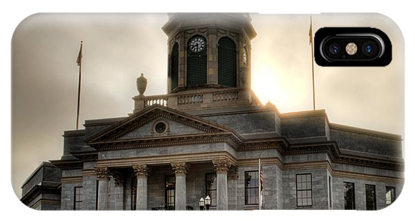 Sunrise On Cherokee County Courthouse IPhone Case
