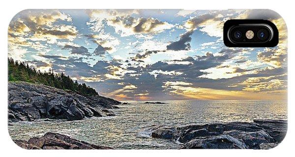 Sunrise On Christmas Cove IPhone Case
